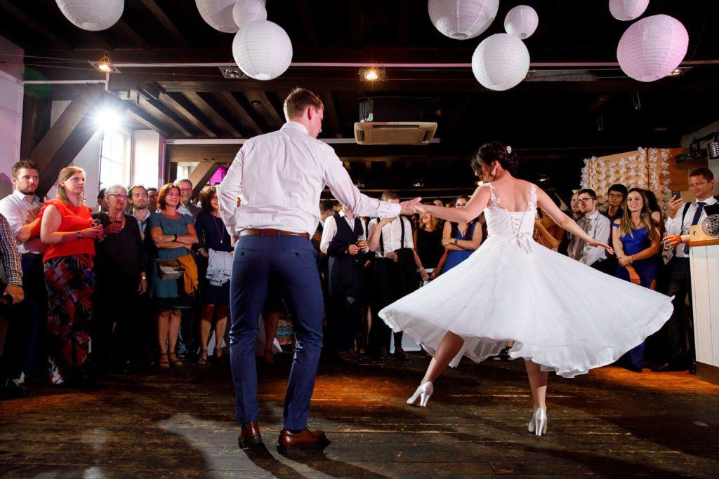 openingsdans bruiloft de hemel